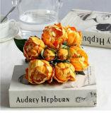 Pivoine artificielle simple de fleur d'unité centrale de bouquet de pivoine de décoration de mariage de fleur artificielle