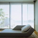 Современные звуконепроницаемых алюминиевый двойной стекла сдвижной двери из Китая