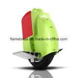 Scooter eléctrico a la deriva con una rueda