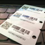 Modifica chiave di plastica di codice del codice a barre QR dei campioni liberi per la scheda di lealtà dell'hotel