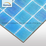 Mosaico Iridescent delle mattonelle della piscina delle mattonelle di pavimentazione di vendita calda quadrata di figura