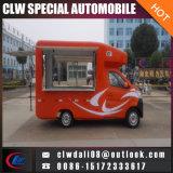 이동할 수 있는 음식 트럭, 중국 의 이동할 수 있는 대중음식점, 판매를 위해 트럭을 판매하는 음식에서 소형 간이 식품 트럭
