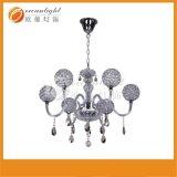 Colore bianco caldo della lampada a cristallo del lampadario a bracci (OM9113)