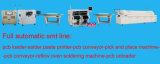 Stampatrici Pieno-Automatiche superiori dello schermo di alta esattezza SMT LED che fanno macchina