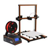 Anet 쉬운 큰 양 크기는 아주 E12 3D 인쇄 기계를 조립하고 운영한다