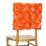 최신 판매 중국 공급 3D 근엽 자수 결혼식  Chavira 의자 덮개