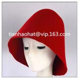 ウールのフェルトの円錐形の帽体