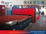 Southtech horizontaler flacher mildernder Glas-aufbereitende Maschinen-Preis (TPG)