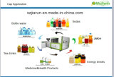 Máquina de molde plástica da compressão do tampão de frasco da eficiência elevada
