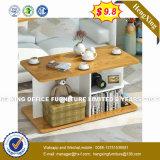 スマートな正方形の金属のスペース節約のコーヒーテーブル(Hx-8nr2422)