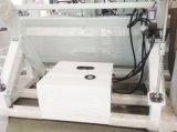 Ventana de aluminio de cuatro cabezales máquina engastado