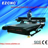 CNCのルーター(GR2030ATC)を刻むEzletterの精密球ねじ広告および印