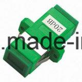 Stpour d'atténuateur Overpowered systèmes à fibres optiques