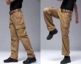 Os homens Multifuncional Esdy cinza ventiladores militar calças calças ao ar livre da cidade