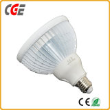 As lâmpadas PAR PAR38-COB-15W 1380lm AC100~265V PAR30 Baixo preço lâmpada LED LED de iluminação LED