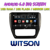 "Witson 10.2 "" 폭스바겐 Jetta 2016년을%s Big Screen Android 6.0 Car DVD"