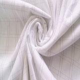 Kohlenstoff-Faser-antibakterielles leitendes Gewebe des 98% Polyester-2% für Bett-Blätter
