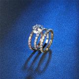 Monili di modo con i monili stabiliti dell'anello semplice di stile di tre colori