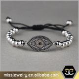 Nam de Gouden Kwade Geparelde Armband van het Oog Charme voor Vrouwen Msbb018 toe