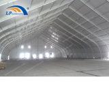 큰 전람 사건을%s 알루미늄에 의하여 구부려지는 구조 산업 저장 천막