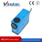 Sensor da fotocélula do contraste da marca da cor Bzj-311 com Ce