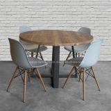 (SD3010) Tabela de jantar moderna da madeira redonda para o jogo da mobília do restaurante