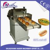 Hambúrguer de alta velocidade cortador com pedal / cortador com pedal pão comercial ajustável