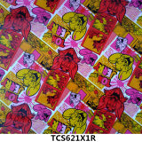 Les patrons mignon Kitty papier en plastique PET Films de transfert de chaleur TCS546X7R