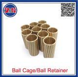 Gaiola do Rolamento de Esferas Assembly-Brass High-Precision Cage-Brass de rolamento do Rolamento de Esferas