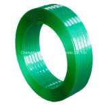 De groene Kleur maakte de Jumbo Plastic Riem van het Broodje in reliëf