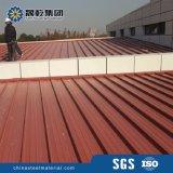 カラーによって塗られる電流を通された鋼鉄屋根シート
