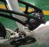 タイヤポンプ隠された電池が付いている電気土のバイク
