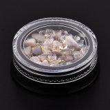 Juwelen van de Spijker van de Parels DIY van de Bergkristallen van de Kristallen van de Spijker van de Kunst van de Spijker van de Stijl van de manier de Decoratie Gemengde 3D voor Spijkers Accessoires