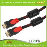 Cavo di nylon dell'intrecciatura HDMI con il prezzo di fabbrica