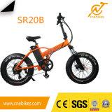 Pequeña bicicleta plegable 250W Ebike plegable de la bici eléctrica gorda del neumático