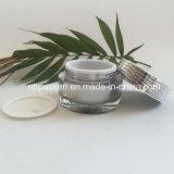 Frasco 30g de creme acrílico de prata popular para o empacotamento do cosmético (PPC-NEW-136)