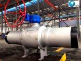 La canalisation d'approvisionnement de la chaleur de la Russie a utilisé le robinet à tournant sphérique monté par Tunnion complètement soudé de GOST