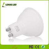 乳白色の白GU10 4.5W LEDのスポットライトのNot-Dimmable 50Wハロゲン球根同等のLEDの電球