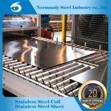 202 feuille d'acier inoxydable de fini du miroir du numéro 8 8K pour la décoration et la construction de vaisselle de cuisine