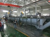 Bouteille en plastique d'alimentation de la machine à laver de recyclage de ferraille bouteille PET