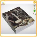 Servizio di stampa variopinto professionale del libro di cucina (OEM-GL029)