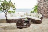 Handfertigkeit-im Freien Weidensofa-gesetzte Möbel-Dubai-Serie