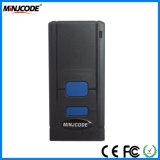 explorador sin hilos portable del código de barras de Bluetooth de la luz roja del CCD 1d, programa de lectura Mj2850 del código de barras