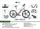 Alliage d'aluminium Ebike de Cms-Tde11z