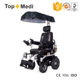 Кресло-коляска удобоподвижности электричества верхнего сегмента Topmedi многофункциональная