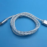 OEM Mobile Phone USB Data Cable met LED Light voor iPhone Android