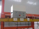 La línea de revestimiento en polvo electrostático semiautomático