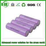 pour la qualité de batterie d'ion de lithium de la grande capacité 2200mAh 18650 d'atterrisseur Icr personnalisée
