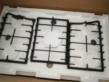 4つのバーナーのガス・バーナーの台所装置(JZS4004AECの黒)