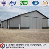 Vorfabrizierter Portalrahmen-Stahlgebäude-Werkstatt mit Erfahrung